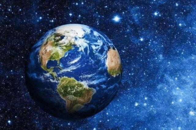 Does the earth look blue now? Actually we are all deceived