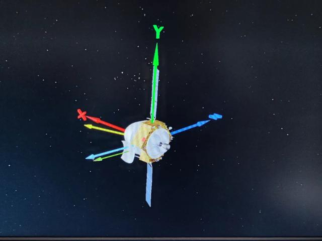 About 3 million kilometers from the earth, Tianwen-1 completed its first orbit correction