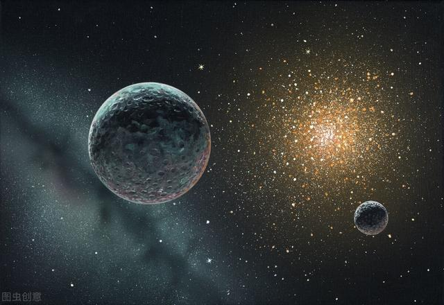"""Destroyed 2 billion years ago, the""""ruins"""" of the ancient star field were discovered"""