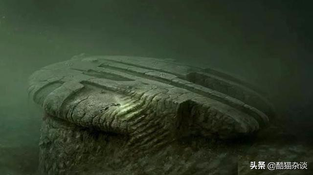 """A rock deep in the ocean, some people suspect it is an""""alien spaceship"""""""