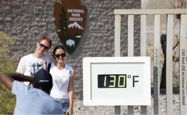 """The temperature in Death Valley in the United States reached 54.4℃, or the """"highest temperature on earth"""" since the official record was made in 1931"""