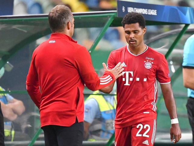 Gullit:Gnabry's foul on Neymar shows his aggressiveness, which is the key to the game