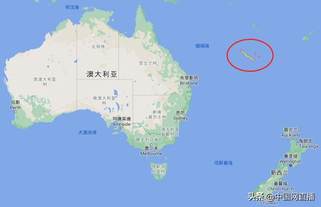 French New Caledonia holds a referendum on independence, China is its important trading partner