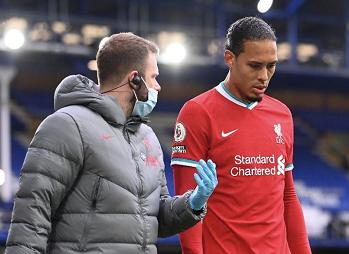 Bein Sports:Van Dijk will be missing 7-8 months from injury