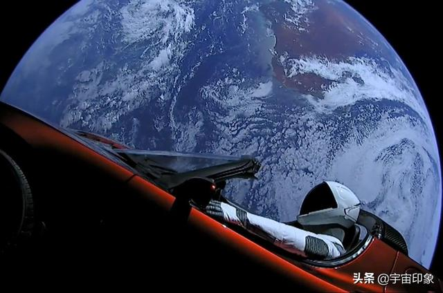 The Tesla car that lifted off two years ago is close to Mars:but its ultimate fate is embarrassing