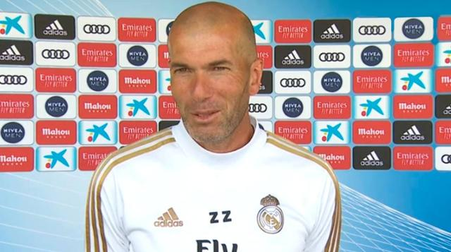 Real Madrid won again at the Nou Camp after a lapse of four years. The coach is Zidane