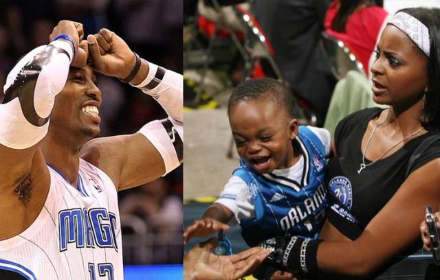Howard, who just won the NBA championship, was caught in a child abuse scandal. He had a son with a cheerleader. Now his son says he was beaten by Howard with a belt.