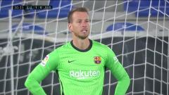 La Liga-Neto makes a mistake and gives a gift to the Savior of the grid, Barcelona 1-1 Alaves wins four rounds