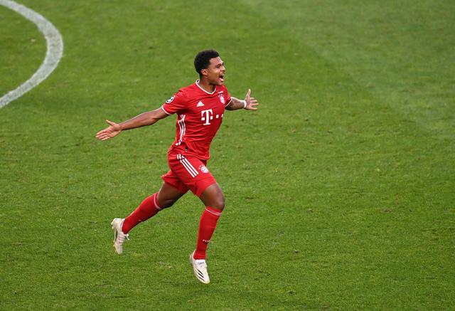 Bayern striker Gnabry:It is pleasant to beat a team of comparable level