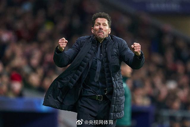 not easy! Simeone beat Barcelona for the first time in La Liga