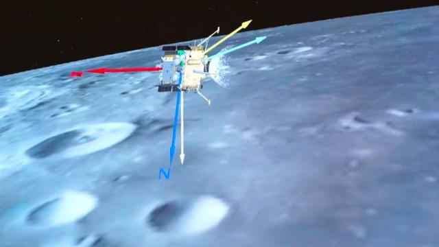 The European Space Agency congratulates the Chang'e-5 probe on the successful landing of the moon