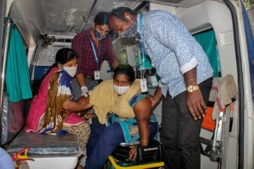 Hundreds of people in India suffer from mysterious disease