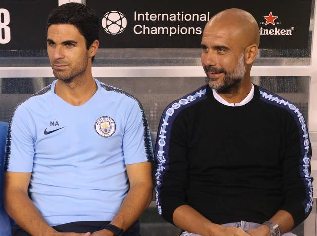 Guardiola:Arsenal should continue to trust Arteta, otherwise they will make a big mistake
