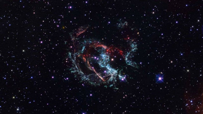 Hubble helps astronomers determine the location of supernovae