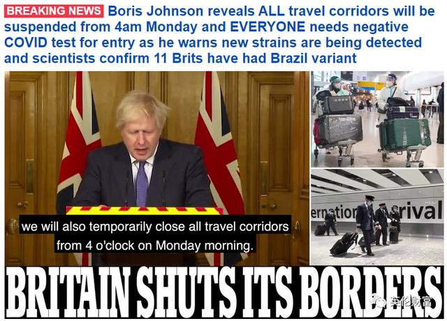 The United Kingdom has confirmed multiple cases of new Brazilian strains and urgently blocked the border! Shortened life expectancy