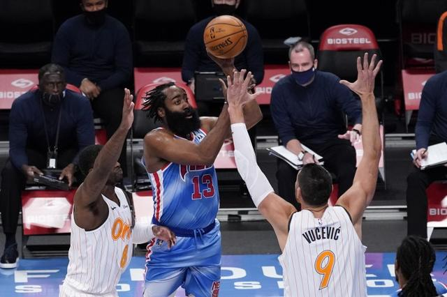What is super giant? Harden Nets debut under 30+ triple double history