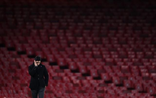 Have you found the person who leaked the information about the team's training? Arteta:Yes, it's so impressive