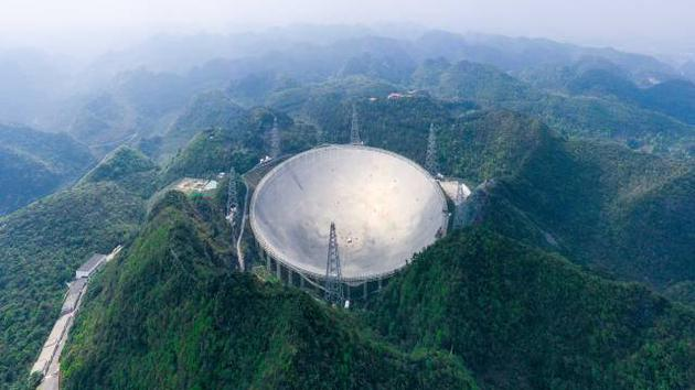 """Now that it is officially open to the world, how far can the """"China Sky Eye"""" """"see""""?"""
