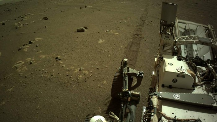 NASA shares the first audio clip recorded by the Perseverance probe on Mars