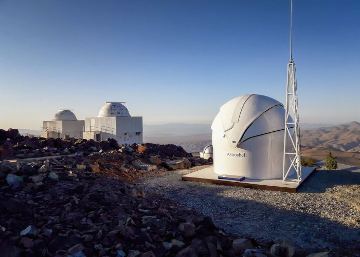 La Silla Observatory welcomes a new astronomical telescope TBT2 dedicated to detecting high-speed moving celestial bodies