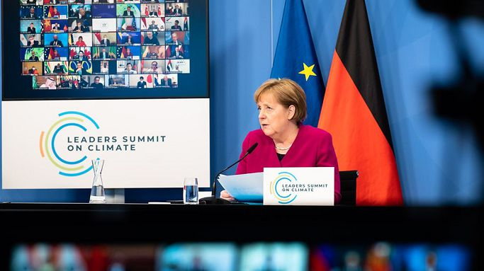 Merkel: Germany will continue to contribute to combating climate change and protecting biodiversity