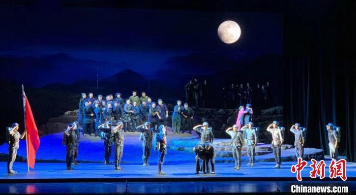 """National Opera """"The Love of Songmaoling"""" performance at the National Grand Theater"""