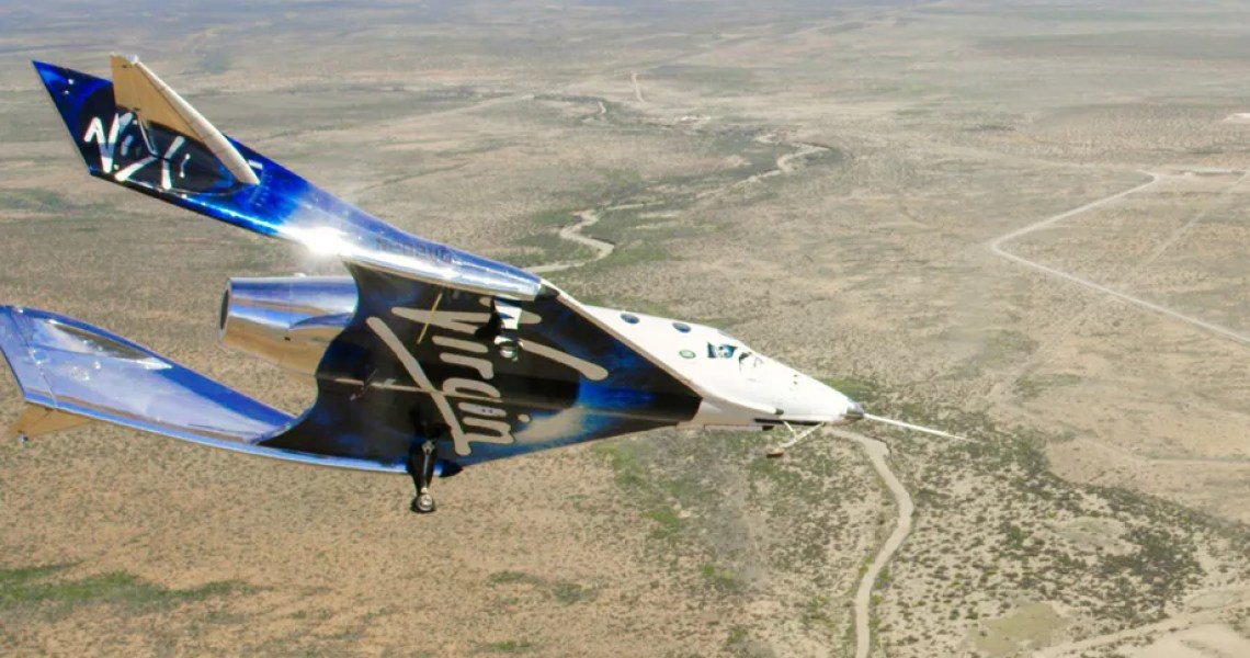 Virgin Galactic completes its first manned space flight in more than two years, one step closer to completion of development