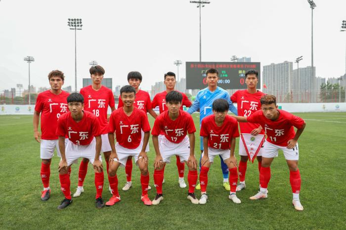 National Games four consecutive victories and promotion + 10 people selected for U18 national football, Evergrande football school talents emerge