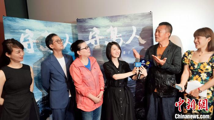 """The main creator of the film """"Island Guardian"""" debuts in Xiamen to praise """"the spirit of the island guard"""""""