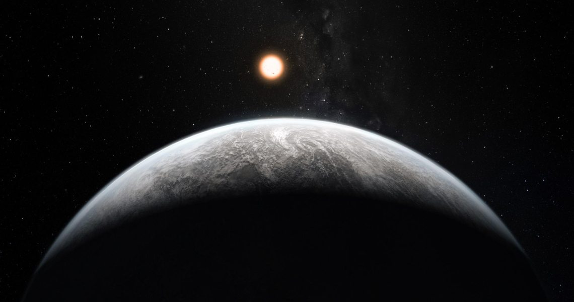 Astronomers newly discovered a Neptune-sized exoplanet with a dense atmosphere