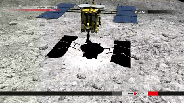 """The Japanese professor announced that signs of water and organic matter were found in the """"Ryugu"""" sample"""
