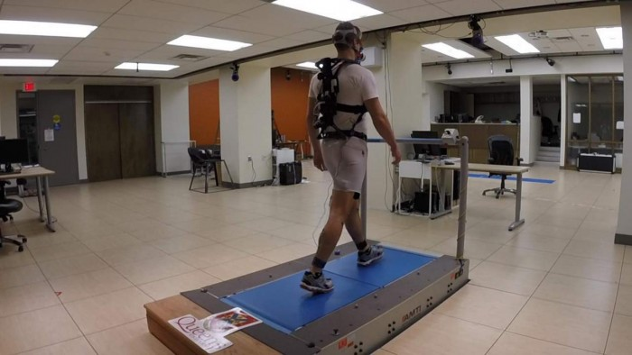 Researchers at Queen's University have created an exoskeleton to improve walking and standing efficiency