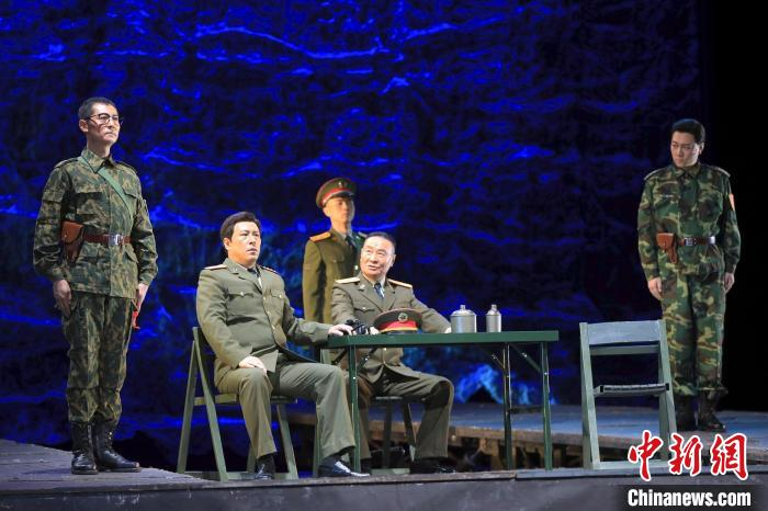 """Military drama classic """"Soldiers·Country Events"""" staged to welcome the Army Day"""