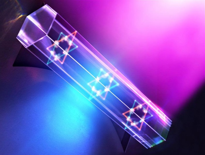 KAIST new laser system: can produce highly interactive quantum particles at room temperature