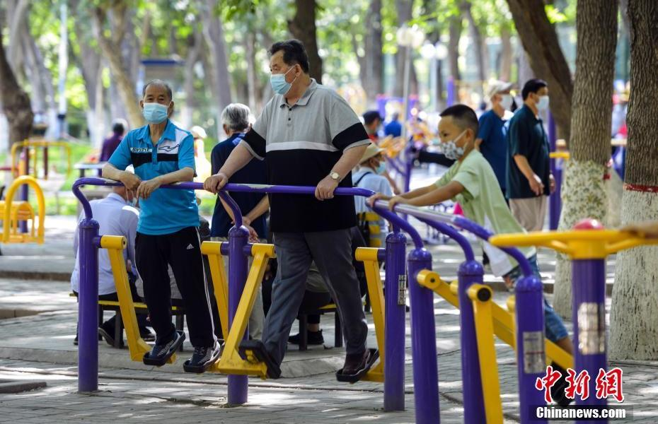 """Urumqi creates a """"15-minute sports and fitness circle"""""""