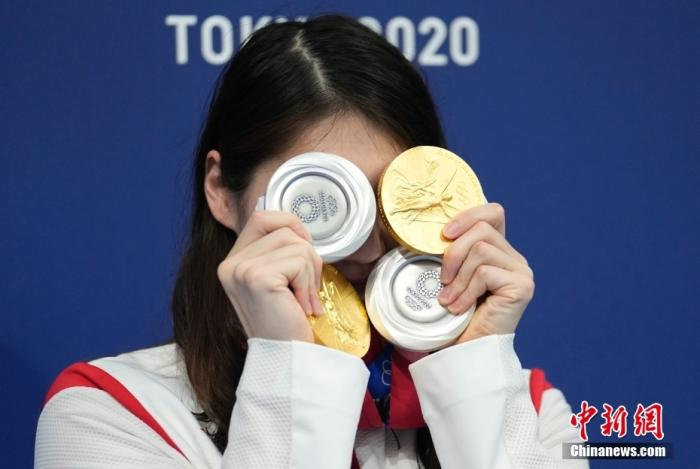 Tokyo Olympics: swimming event ends, Chinese team wins 3 golds and 2 silvers