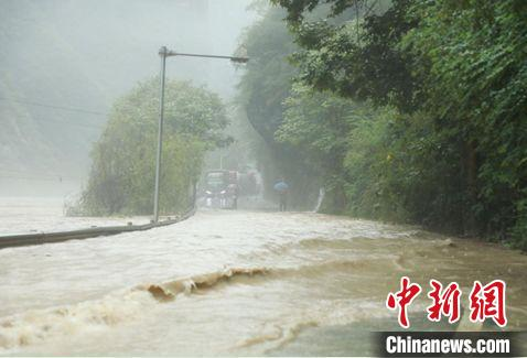 Chongqing Wuxi: Heavy rain hits the city and transfers more than 1,700 people