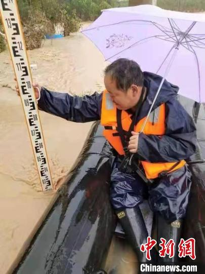 Affected by rainfall, there were 53 flood peaks in 26 rivers in Shaanxi