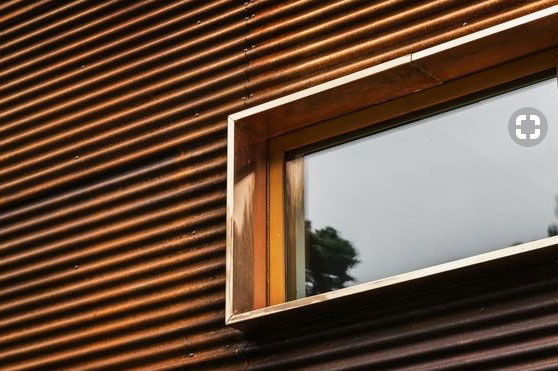 Modern exterior window details for Contemporary exterior window trim