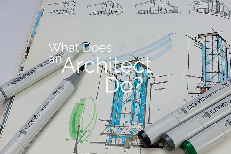 View Larger Image What Does An Architect Do?