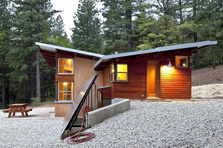 Inspiring modern mountain houses for Small mountain modern homes
