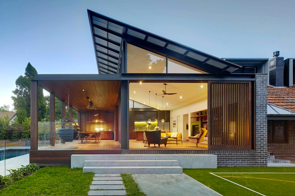 Simple modern roof designs for Types of architecture design