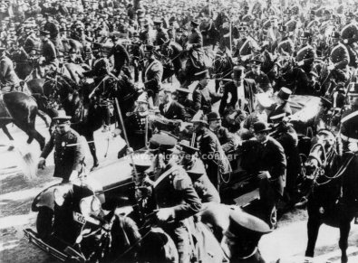 Asunción del segundo mandato de Yrigoyen (1928)