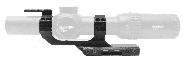 "PMM RS-30 Premium Cantilever Ring Mount for 30mm Tube w/ 2"" Offset with Reflex Sight Picatinny Mount 1"