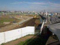 ④歩道橋から完了風景を撮影