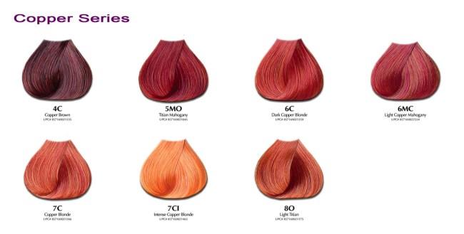Ion Light Copper Blonde Hair Color