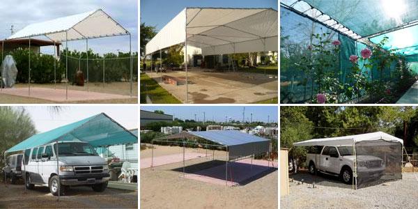Tarps Amp Fittings For Portable GaragesCarportsTentsCanopy Shelters