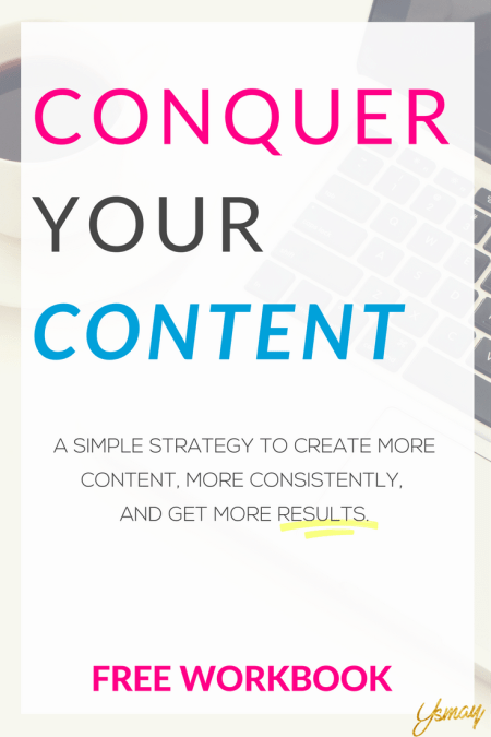 Conquer Your Content: A simple strategy to get the most out of your content marketing