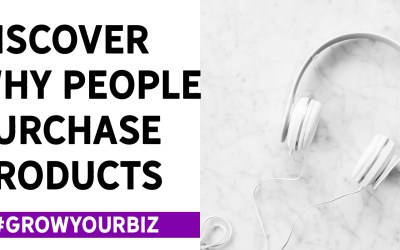 Discover why people purchase products