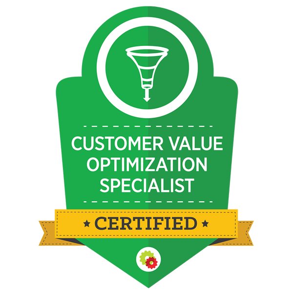 Customer Value Optimisation Specialist: Certified